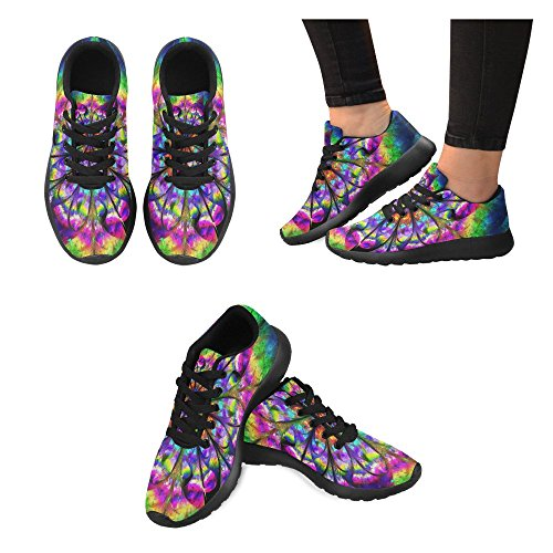 Walking Trainer Athletic Womens InterestPrint Cross Trail 3 Sports Jogging Lightweight Multi Shoes Running Sneakers vzUwqTUE
