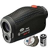 Luepold Golf GX-1i3 Rangefinder + CR2 Battery + 1 Custom Ball Marker Clip