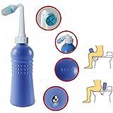 Corner Biz Bath - 400ml Portable Bidet Sprayer, Travel Bidet Bottle Personal Cleaning Device
