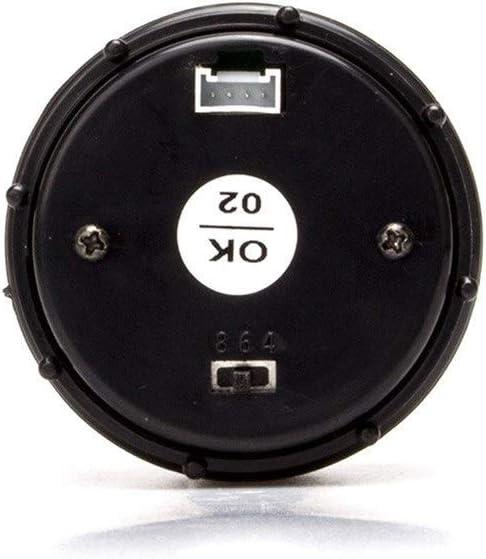 Color : Black LZP-PP Jauge De Temp/érature Dhuile Dinstrument De Modification De Voiture De Carburant Jauge De Temp/érature Dhuile Daffichage Num/érique 2 Pouces 52mm Bleu