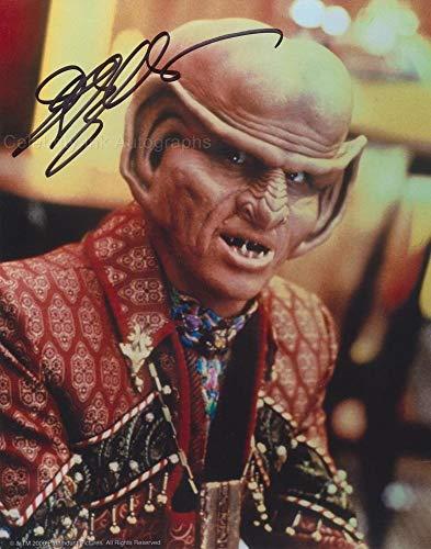JEFFREY COMBS as Brunt - Star Trek: Deep Space Nine GENUINE AUTOGRAPH