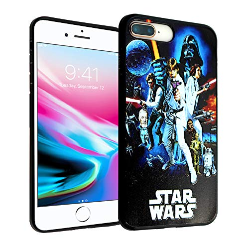 - iPhone 7 8 Plus CASEMPIRE Star Wars Characters TPU Case Shock Proof Never Fade Slim Fit Cover for iPhone 7 8 Plus Star Wars