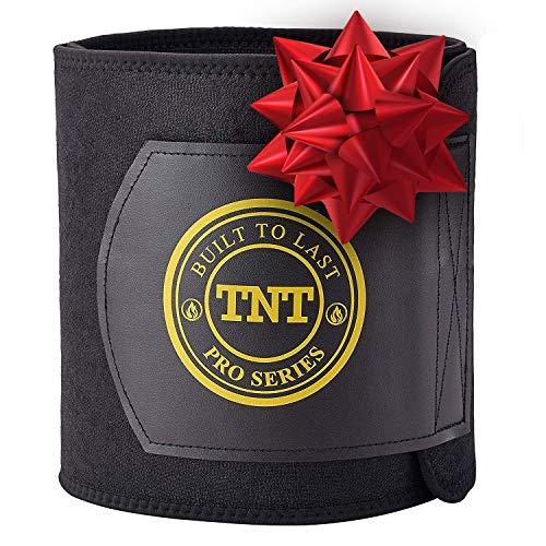 (TNT Pro Series Waist Trimmer Weight Loss Ab Belt - Premium Stomach Wrap and Waist Trainer (Original))
