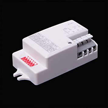 Zuanty - Detector de movimiento para microondas (220 V-240 V ...