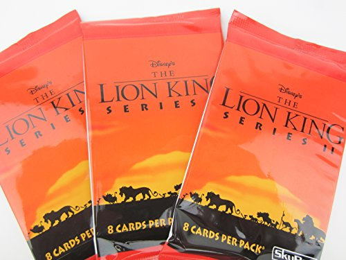 Disney The Lion King Series II Trading Cards (3 packs) -  Skybox