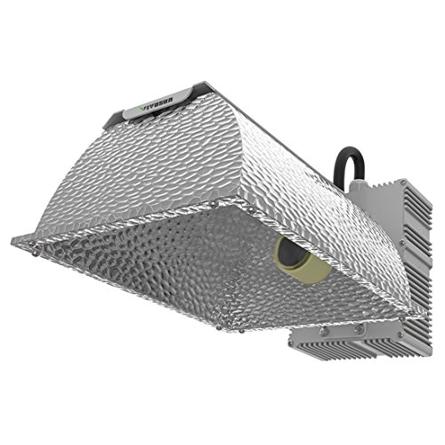 Metal Halide Reflector - VIVOSUN 315W Ceramic Metal Halide CMH/CDM Grow Light Fixture, ETL Listed, High-Reflectivity Vega Aluminum Hood, 120/240V Ballast, Full-Spectrum CMH Hydroponic Grow Light and Suspension System