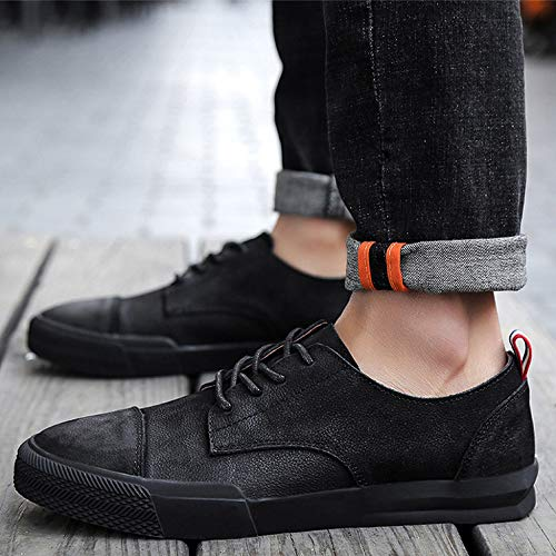 Aire Barco Dan Zapatos Resbalón Mocasines Black Antiguos Casuales De Al Gamuza Los En Libre Para Hombre Caminar q66zrI