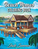 Beach Homes: An Adult Coloring Book with