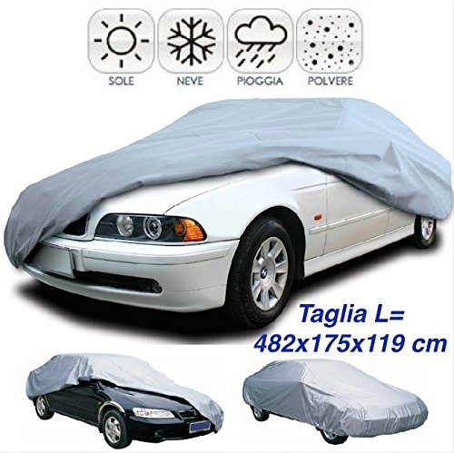 19 opinioni per DOBO® Telo copriauto impermeabile in pvc copertura copri auto anti pioggia sole