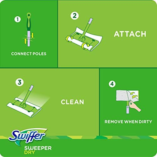 health, household, household supplies, cleaning tools, dusting,  dust mops, pads 12 picture Swiffer Sweeper Dry Sweeping Pad Multi Surface Refills promotion