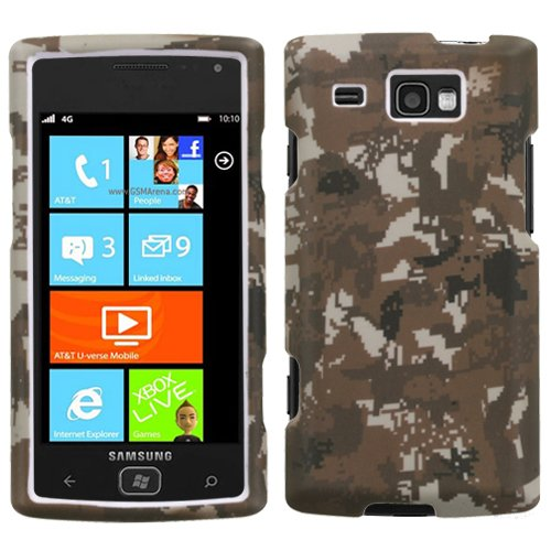 MyBat Samsung i677 Focus Flash Lizzo Phone Protector Cover - Retail Packaging - Digital (Lizzo Digital Camo)