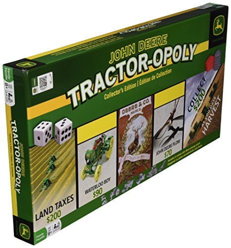 MasterPieces John Deere Tractor-Opoly Board Game