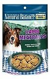 Natural Balance Delectable Delights Lamb Meatballs Dog Treats - 4-Ounce