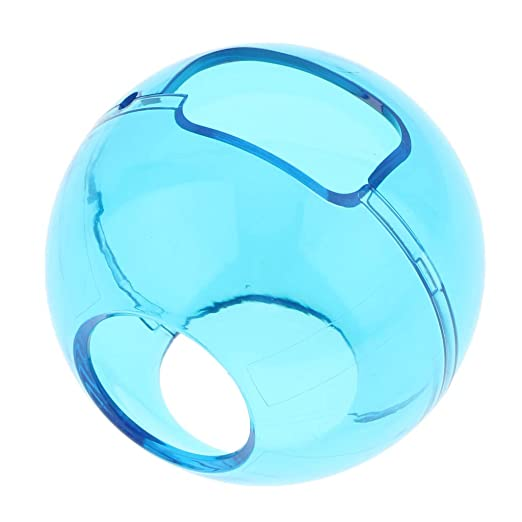 buy transparent blue protective cover skin guard for poke ball plus