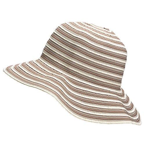 e577e8ab9 Women Floppy Sun Hats w/Wide Brim Summer Beach UV Protection ...
