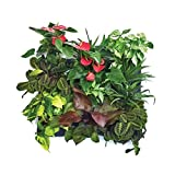 Amgate Vertical Wall Garden Planter 12 Pockets Wall-mounted Plant~ Large Size 24.4 in 32 in ~ for Indoor/outdoor