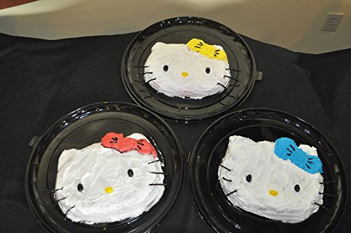(Home Comforts Acrylic Face Mounted Prints Cake Party Hello Kitty Food Birthday Celebration Print 18 x 24. Worry Free Wall Installation - Shadow Mount is)