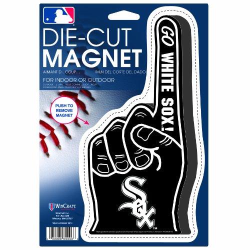 UPC 043662393851, MLB Chicago White Sox Die Cut #1 Finger Logo Magnet