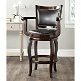 Safavieh Home Collection Gitano Sierra Brown 29-inch Bar Stool Review