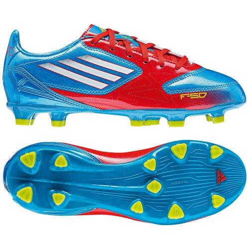 adidas F10 Trx Fg - Botas de Fútbol de material sintético Hombre Blu - blu