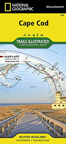 Cape Cod (National Geographic Trails Illustrated Map) (Best 250 Trail Bike)