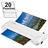 Apache Document Photo Laminator - Hot/Cold - AL13W 13 and 20 Pouches