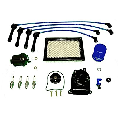 Tune Up Kit Replacement For Honda Civic CX DX LX 1996 to 2000 1.6L: Automotive