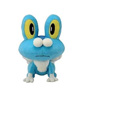 "Froakie Plush Animation Toy Soft Stuffed Animals Beautiful Cutest Doll Fun Birthday Party Favors Great Gifts Ideas for Boys Girls Kids 12"": Toys & Games"