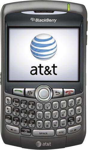 BlackBerry Curve 8310 Phone, Titanium (AT&T)