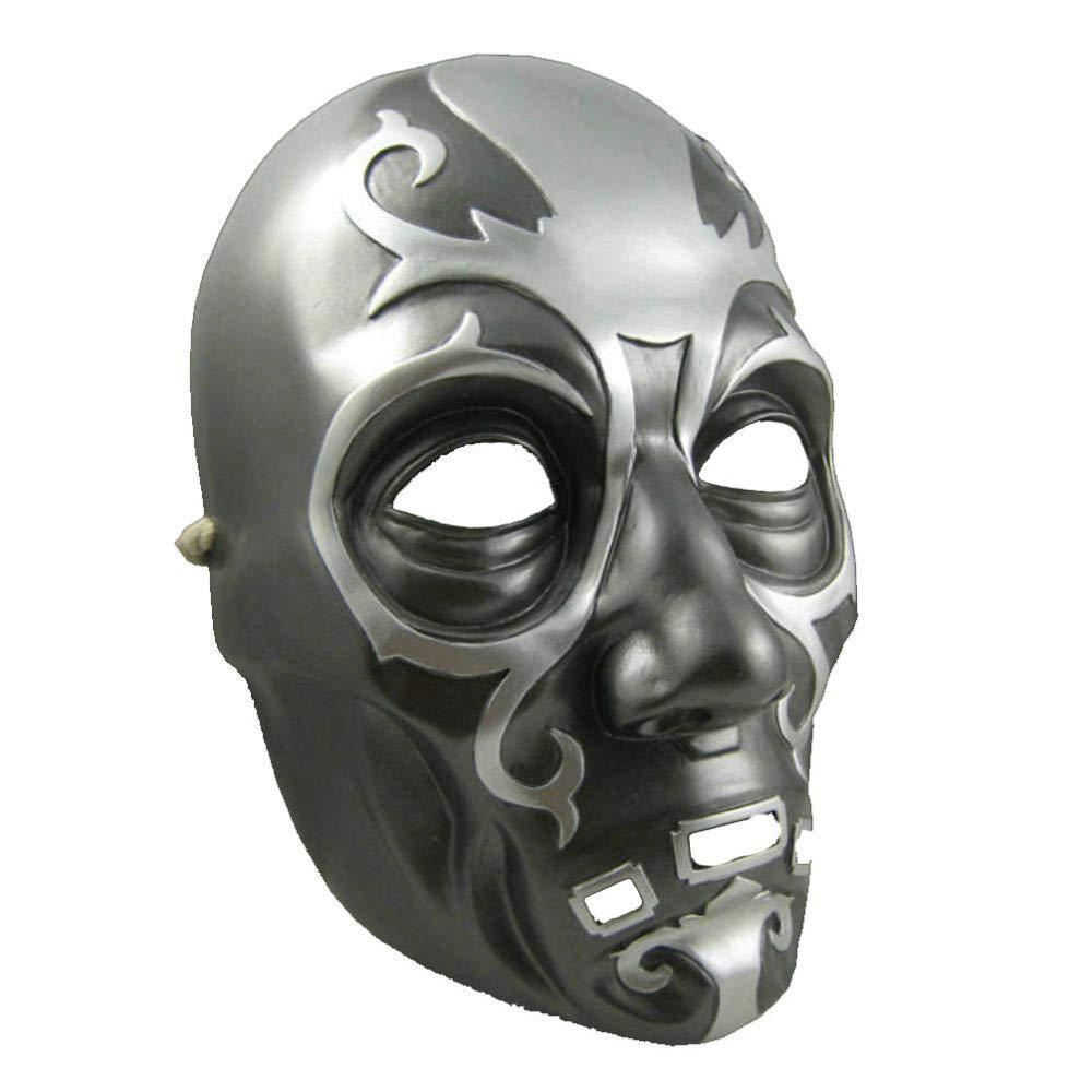 DYMAS Harry Potter Lucius Halloween Maske Harz Maske