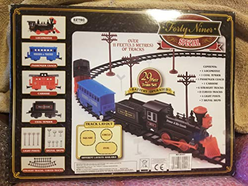 Forty Niner Special Denver & Rio Grande Train Set