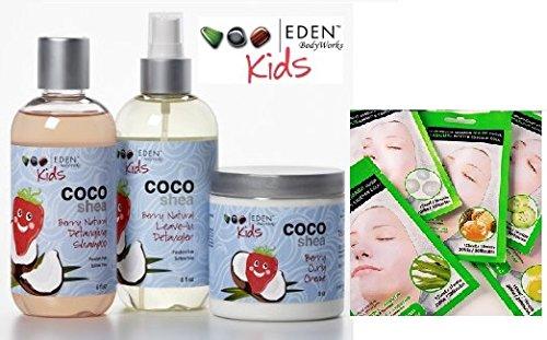 Eden Kids Coco Shea Haircare set with