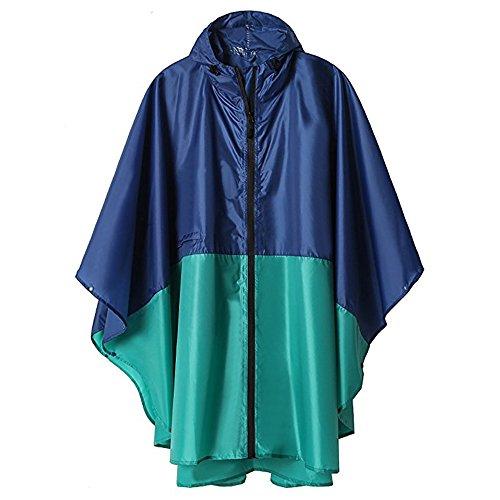 アウトドア クローク 大人 レインコート ウインドブレーカー 女性 防水 レインコート 通気性のある 旅行 サイクリング バックパック ポンチョ 軽量 レインウェア 防水 携帯袋付き