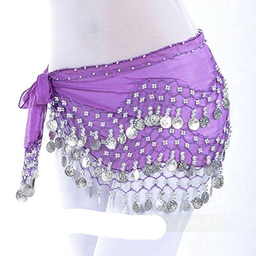 Dance Hip nbsp;pièces Belly Vogue Cadeau d'or Idée 22 Écharpe 128 Style Style wCqO4t