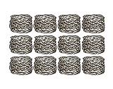 Klikel Mesh Napkin Ring Stainless Steel Set Of 12