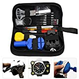Watch Repair Kit EZYKOO 144 PCS Watchmakers Tools Case Opener Adjuster Remover Wrench Strap