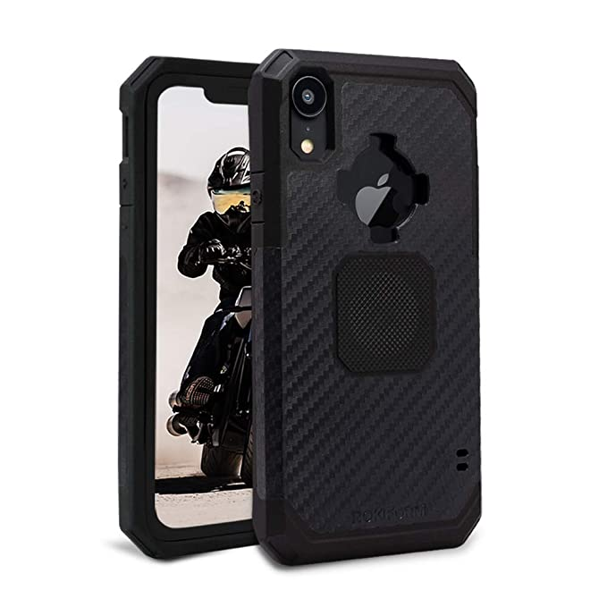 san francisco 4bf67 6ca44 Rokform Rugged [iPhone XR] Military Grade Magnetic Protective Case with  Twist Lock - Black