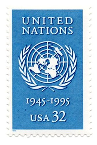 - USA Postage Stamp Single 1995 United Nations Issue 32 Cent Scott #2974
