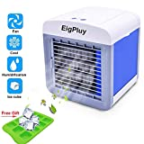 Alliebe Personal Air Cooler Mini Portable Air Conditioner Fan Desktop Space Cooler Personal USB Table Fan Small Evaporative Cooler Air Humidifier (A-AC1)