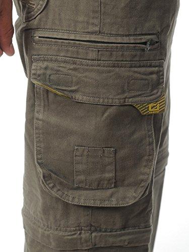 Cargo Pant Oneal 2015 Worker Verde Scuro (42 Vita = Eu 58 , Verde)