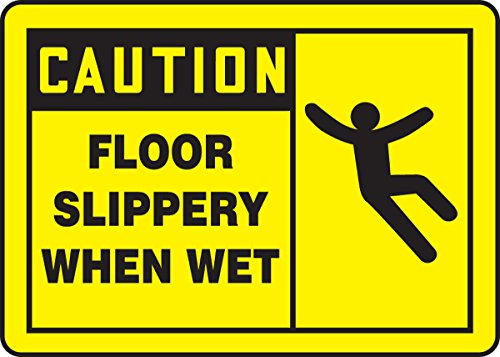 Accuform Signs MSTF622VS Adhesive Vinyl Safety Sign, Legend