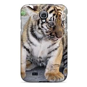 New Cute Funny Small Tiger Case Cover/ Galaxy S4 Case Cover by icecream design