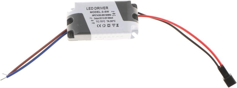 3-5W Panel-Licht LED Netzteil Treiber Transformator f/ür Deckenleuchte