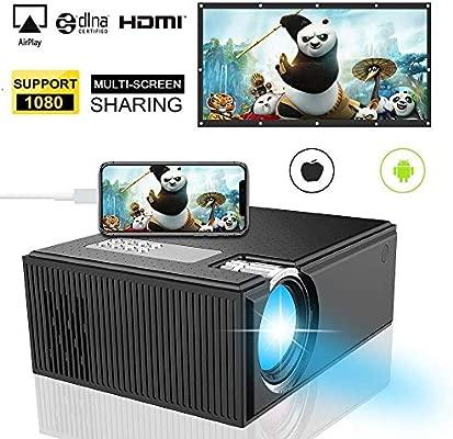 Mini Proyector, iBosi Cheng Proyector de Video Portátil Proyector ...