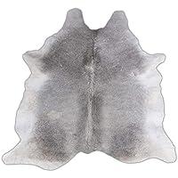RODEO Elegant Cowhide Rug Elephant Grey (7X7)