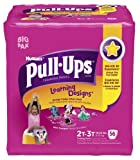 Health & Personal Care : Pull-Ups Learning Design Training Pants, Size 2T-3T, Girl, 56 Count (Pack of 2)