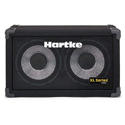 - Hartke 210XL Bass Guitar Amplifier 2x10 Cabinet, 200 Watts