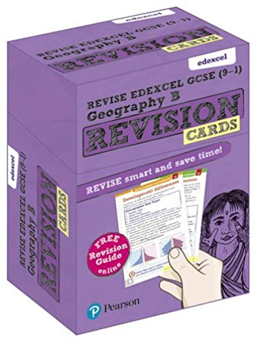 revise edexcel gcse 9 1 geography b revision cards with free rh amazon co uk gcse geography edexcel b revision notes GCSE Science Revision Notes