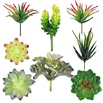 Hecaty-8-Pcs-Faux-SucculentsArtificial-Hanging-Ornaments-Fleshed-Plant-Textured-for-Home-Garden-Wedding-Party-Decoration-8pcs