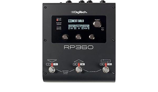 DigiTech RP360 Guitar Multi-Effects Processor: Amazon.es: Instrumentos musicales